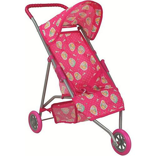 Коляска трехколесная для кукол Buggy Boom Mixy, розовая от Buggy Boom