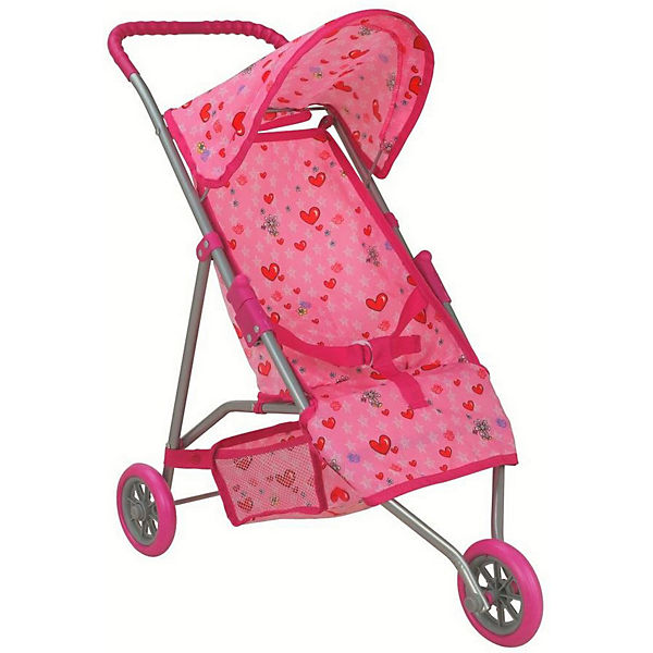 "Коляска для кукол Buggy Boom ""Mixy"", светло-розовая"