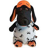 Мягкая игрушка Budi Basa Собака Ваксон в спальном комбинезоне и в маске, 25 см