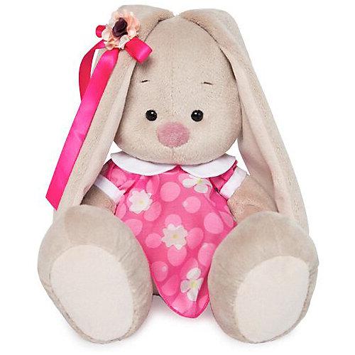 Мягкая игрушка Budi Basa Зайка Ми в розовом платье с белым воротничком, 18 см от Budi Basa