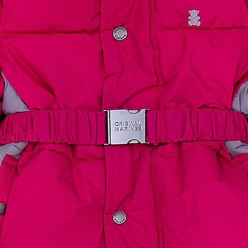 Утепленный комбинезон Original Marines - розовый от Original Marines