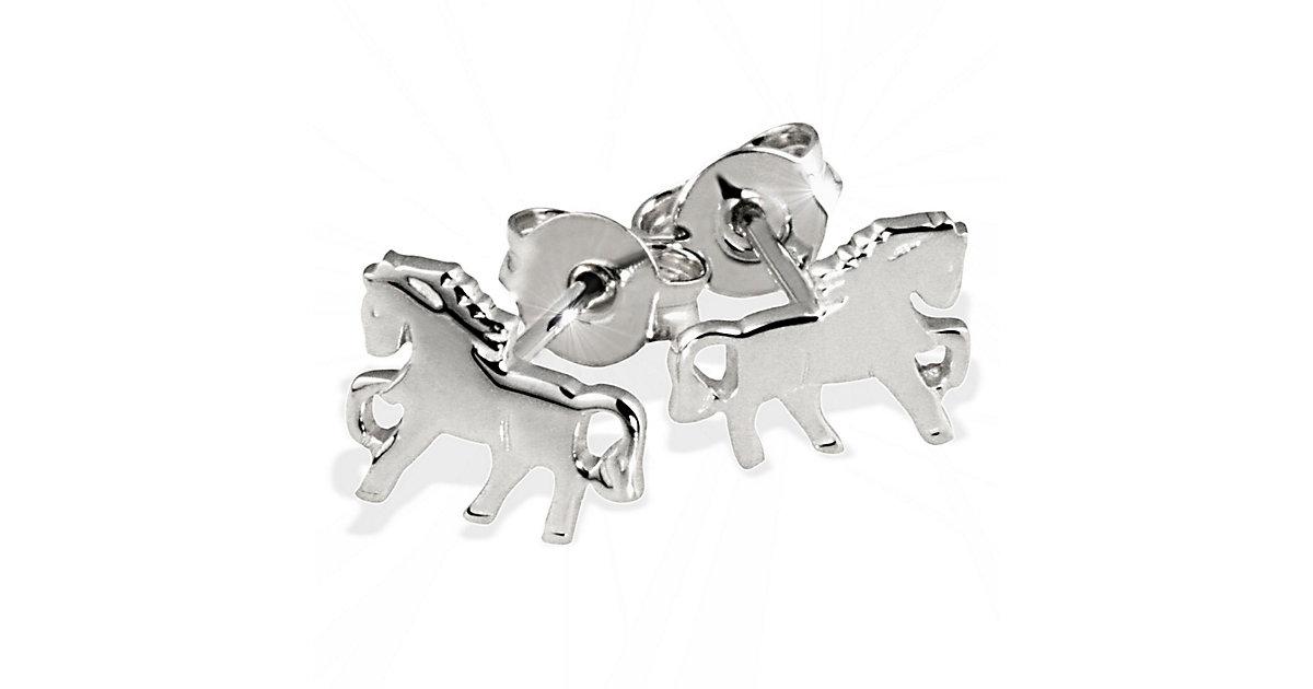 Ohrstecker Silber 925 Pferde hochglanzpoliert Ohrstecker silber   Schmuck > Ohrschmuck & Ohrringe > Ohrstecker   Silber   Goldmaid