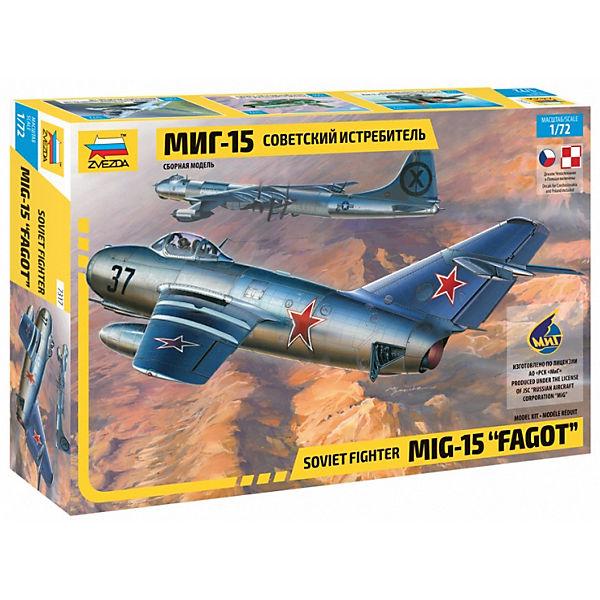"""Сборная модель Звезда """"Советский истребитель """"МиГ-15"""""""