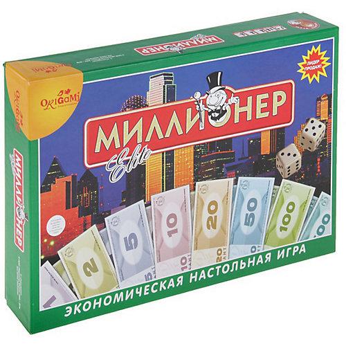 """Настольная игра Origami """"Миллионер"""" Элит, в твёрдом коробе от Origami"""