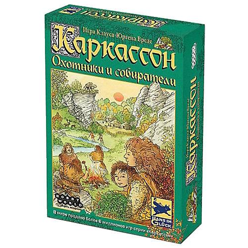 Настольная игра Hobby World Каркассон Охотники и Собиратели, 2-е русское издание от Hobby World
