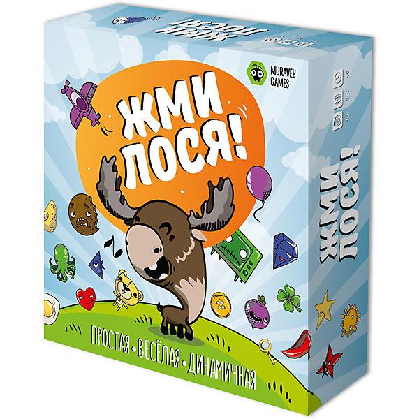 """Настольная игра Muravey Games """"Жми лося"""""""