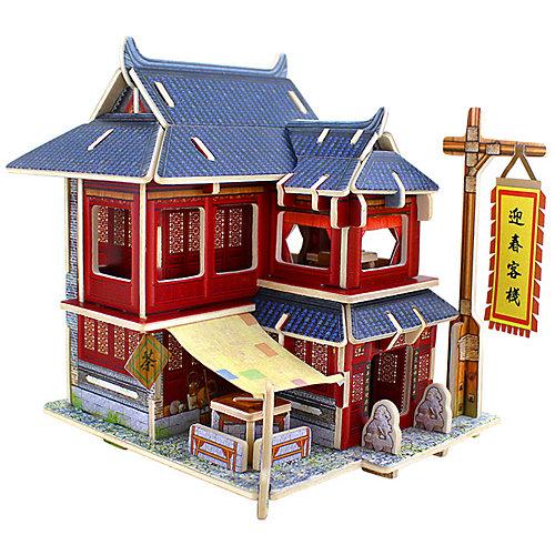 """3D пазл Rezark """"Домики Китая"""" Отель, 51 элемент от Rezark"""