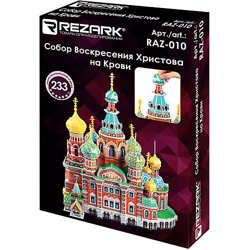 """3D пазл Rezark """"Собор Воскресения Христова на Крови"""", 233 элемента от Rezark"""