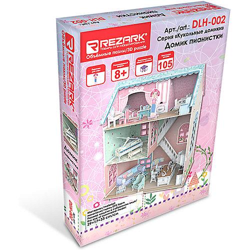 """3D пазл Rezark """"Кукольные домики"""" Домик пианистки, 105 элементов от Rezark"""
