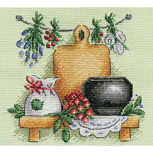 """Набор для вышивания Panna """"Счётный крест"""" Целебные травы, 17х17 см от Panna"""