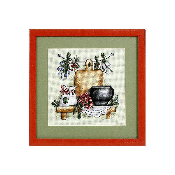 "Набор для вышивания Panna ""Счётный крест"" Целебные травы, 17х17 см"
