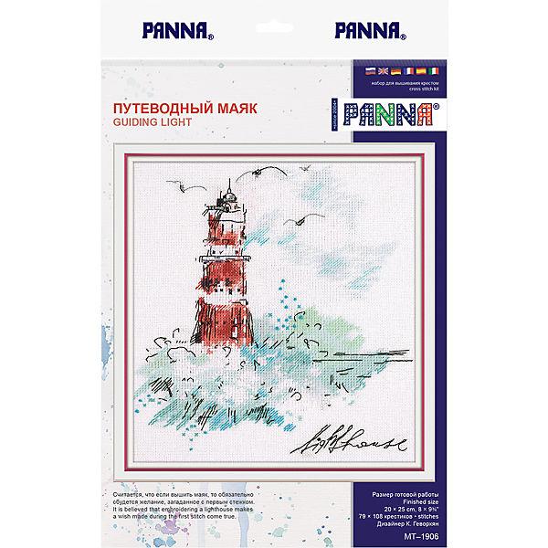 """Набор для вышивания Panna """"Бэкстич"""" Путеводный маяк, 20х25 см"""