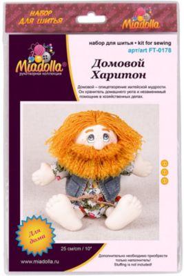 """Набор для шитья игрушек Miadolla """"Игрушки с живописными глазами"""" Домовой Харитон"""