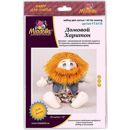 """Набор для шитья игрушек Miadolla """"Игрушки с живописными глазами"""" Домовой Харитон от Miadolla"""