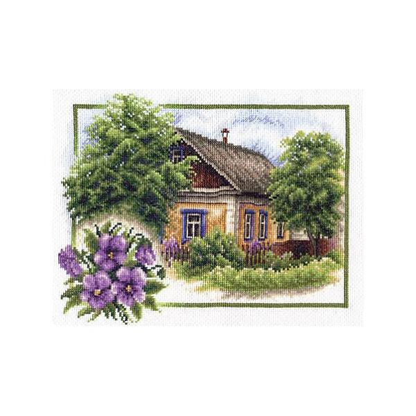 """Набор для вышивания Panna """"Счётный крест"""" Лето в деревне, 26х20 см"""