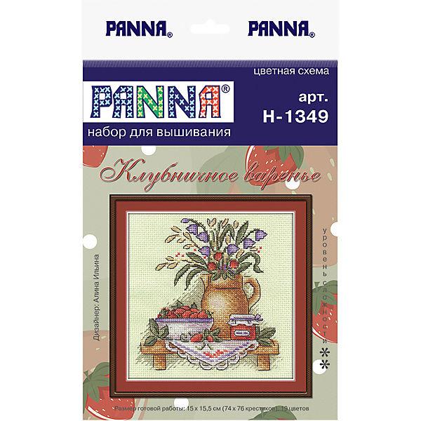 """Набор для вышивания Panna """"Счётный крест"""" Клубничное варенье, 15х15,5 см"""