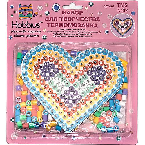 """Термомозаика Hobbius № 2 """"Сердце"""", 240 бусин от Hobbius"""