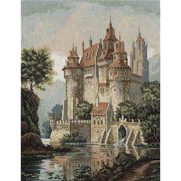 """Набор для вышивания Panna """"Золотая серия"""" Замок в горах, 27,5х36,5 см"""