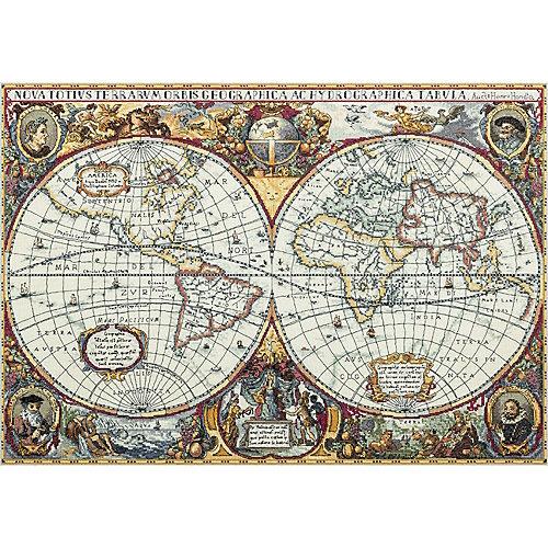 """Набор для вышивания Panna """"Золотая серия"""" Географическая карта мира, 63,5х44,5 см от Panna"""
