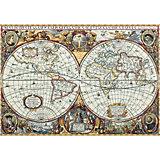 """Набор для вышивания Panna """"Золотая серия"""" Географическая карта мира, 63,5х44,5 см"""