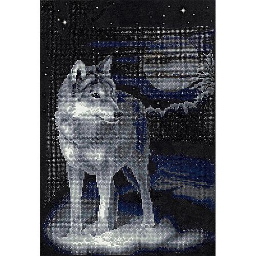 "Алмазная мозаика Фрея ""Волк"", 46,5х31,5 см от Фрея"