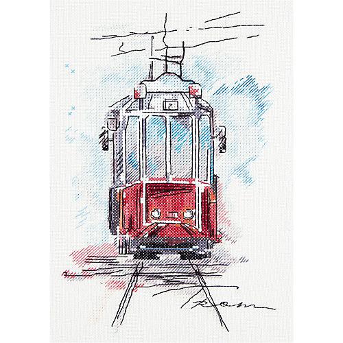 """Набор для вышивания Panna """"Бэкстич"""" Городской трамвай, 17х25 см от Panna"""