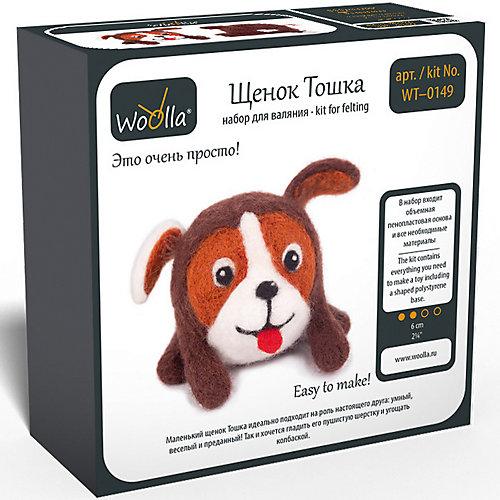 """Набор для валяния Woolla """"Игрушки"""" Щенок Тошка от Woolla"""