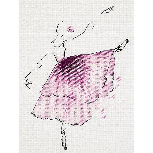 "Набор для вышивания Panna ""Бэкстич"" Балерина. Анемон, 20х23 см от Panna"