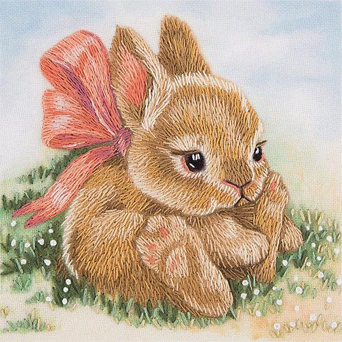 """Набор для вышивания Panna """"Живая картина"""" Крольчонок, 9х9 см от Panna"""