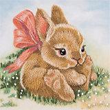 """Набор для вышивания Panna """"Живая картина"""" Крольчонок, 9х9 см"""