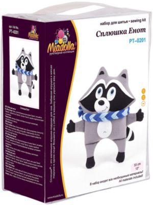 """Набор для шитья игрушек Miadolla """"Сплюшки"""" Сплюшка енот"""