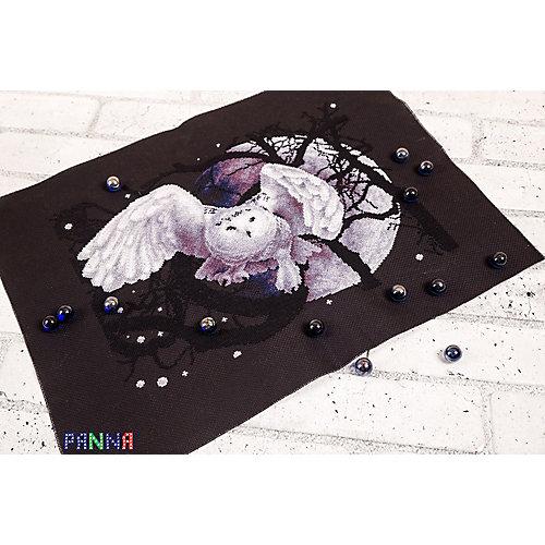 """Набор для вышивания Panna """"Счётный крест"""" Белая сова, 36х27 см от Panna"""