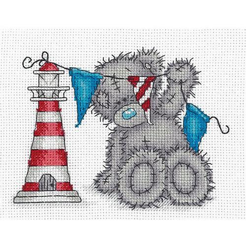 "Набор для вышивания мулине Klart ""Tatty Teddy с маяком"", 17,5х14 см от Klart"