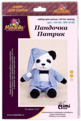 """Набор для шитья игрушек Miadolla """"MiMi Мир"""" Пандочка Патрик"""