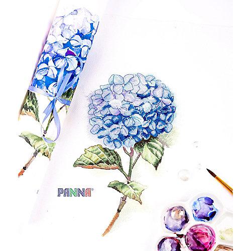 """Набор для вышивания Panna """"Бэкстич"""" Голубая гортензия, 20х30 см от Panna"""