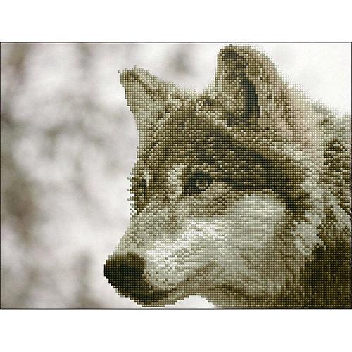 "Алмазная мозаика Фрея ""Волк"", 42х32 см от Фрея"