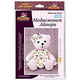 """Набор для шитья игрушек Miadolla """"MiMi Мир"""" Медвежонок Айвори"""