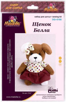 """Набор для шитья игрушек Miadolla """"MiMi Мир"""" Щенок Белла"""