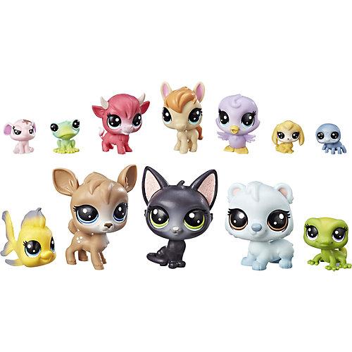 """Игровой набор Littlest Pet Shop """"12 счастливых петов"""" Донат от Hasbro"""