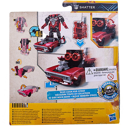 "Трансформеры Transformers ""Заряд Энергона"" Шаттер, 15 см от Hasbro"