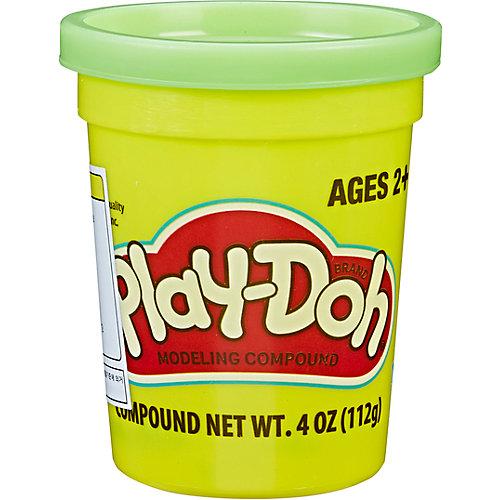 Пластилин Play-Doh в баночке 112 гр., зелёный от Hasbro