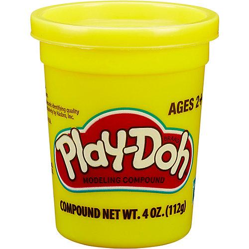 Пластилин Play-Doh в баночке 112 гр., жёлтый от Hasbro