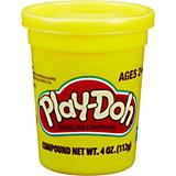 Пластилин Play-Doh в баночке 112 гр., жёлтый