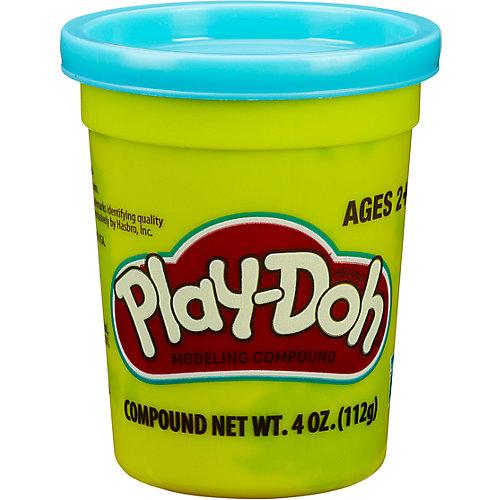 Пластилин Play-Doh в баночке 112 гр., голубой от Hasbro