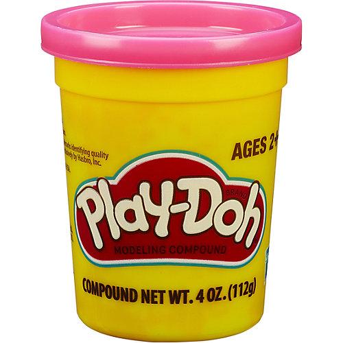 Пластилин Play-Doh в баночке 112 гр., розовый от Hasbro