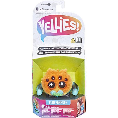 Интерактивная игрушка Yellies Паучок Флаферпуф от Hasbro