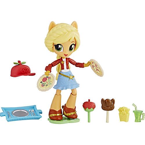 Мини-кукла Equestria Girls Эплджек с аксессуарами от Hasbro