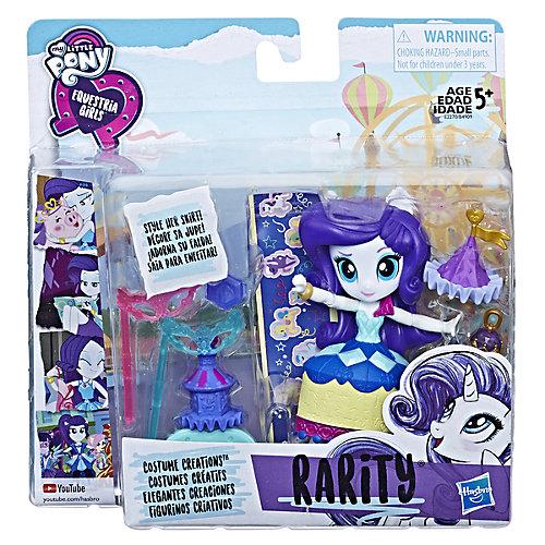 Мини-кукла Equestria Girls Рарити с аксессуарами от Hasbro