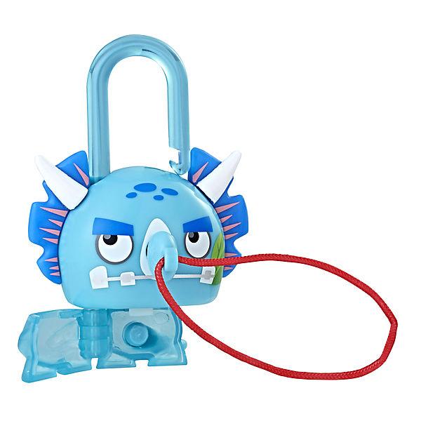 Замочек с секретом Lockstar серия 2, Синий динозавр