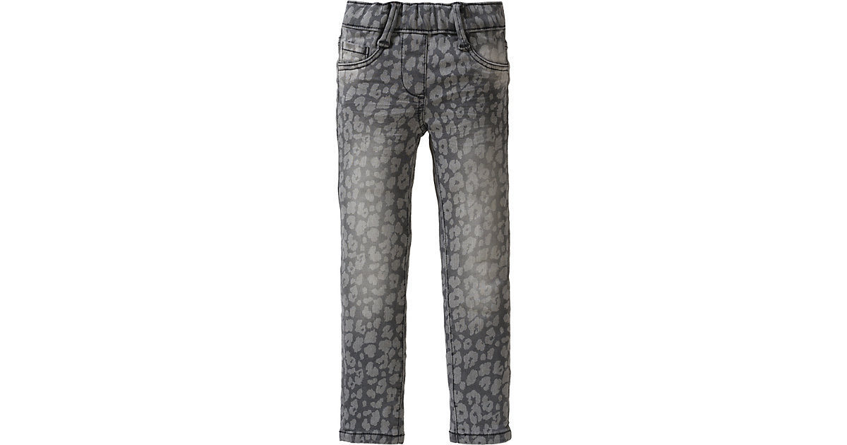 s.Oliver · Jeans mit Leoprint Regular Fit Gr. 98 Mädchen Kleinkinder